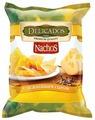 Чипсы Delicados Nachos кукурузные с нежнейшим сыром