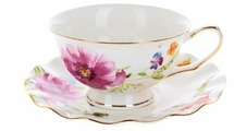 """Best Home Porcelain Чайная пара """"Summer day"""" 220 мл (подарочная упаковка)"""