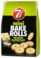 7DAYS сухарики mini Bake Rolls Чеснок-пармезан, 80 г