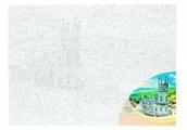 """Рыжий кот Картина по номерам """"Крым. Ласточкино гнездо"""" 30х40 см (Х-5811)"""