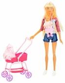 Набор кукол Defa Lucy Мама с ребенком 8380