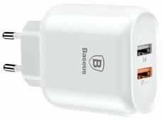Сетевая зарядка Baseus Bojure Series Dual-USB quick charge