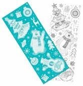 Наклейка интерьерная Феникс Present Веселый новый год 54 x 21 см