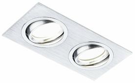 Встраиваемый светильник Ambrella light A601/2 AL, алюминий