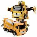 Робот-трансформер Jia Qi Troopers Velocity Бетономешалка