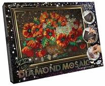 Danko Toys Набор алмазной вышивки Diamond Mosaic Цветы (DM-01-06) 40х30 см