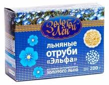 """Отруби Золотой лён льняные """"Эльфа"""", 200 г"""