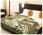 Плед Buenas noches ZA FN 411/224 BE 2022 Леопард на шкуре 65194 200 х 220 см