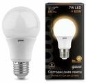 Лампа светодиодная gauss 102502107, E27, G60, 7Вт
