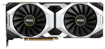 Видеокарта MSI GeForce RTX 2080 Ti 1350MHz PCI-E 3.0 11264MB 14000MHz 352 bit HDMI HDCP VENTUS OC