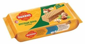 Вафли Яшкино Ореховые 300 г