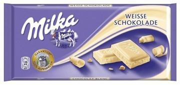 Шоколад Milka белый