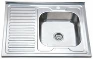 Накладная кухонная мойка Ростовская Мануфактура Сантехники MS8-8060R 80х60см нержавеющая сталь