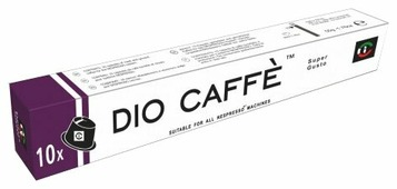 KSP Caffe Кофе в капсулах Dio Caffe Super Gusto (10 капс.)