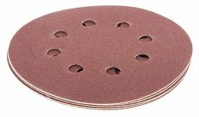 Шлифовальный круг на липучке Hammer 214-005 125 мм 5 шт