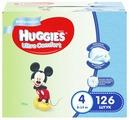 Huggies подгузники Ultra Comfort для мальчиков 4 (8-14 кг) 126 шт.