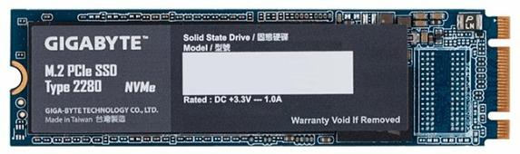 Твердотельный накопитель GIGABYTE M.2 PCIe SSD 512GB (GP-GSM2NE8512GNTD)