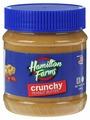 Hamilton Farms Арахисовая паста с кусочками арахиса