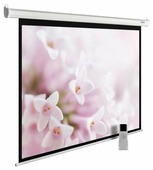 Рулонный матовый белый экран cactus MotoExpert CS-PSME-240x240-WT