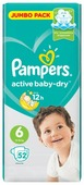 Pampers подгузники Active Baby-Dry 6 (13-18 кг) 52 шт.