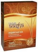 Хна Aasha Herbals индийская стерилизованная витаминизированная