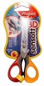 Maped ножницы Sensoft 3D с гибкой ручкой для левшей