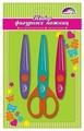 Феникс+ Ножницы фигурные для декоративной резки бумаги (45808), набор из 1 шт. + 2 сменных лезвий