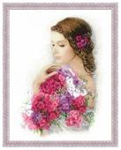 Риолис Набор для вышивания Premium Очарование лета 35 х 45 см (100/036)