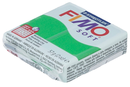 Полимерная глина FIMO Soft запекаемая тропический зеленый (8020-53), 57 г