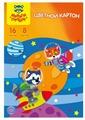 Цветной картон Мульти-Пульти, A4, 16 л., 8 цв.