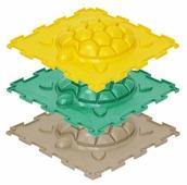 Коврик-пазл ортопедический Ортодон Черепашка жесткий набор (ОРТО_25ЧЖ)