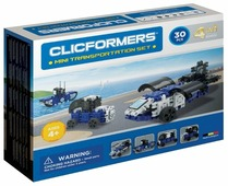 Магнитный конструктор Magformers Clicformers 804002 Mini Transportation Set