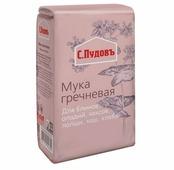 Мука С.Пудовъ гречневая, 0.5 кг