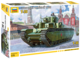 Сборная модель ZVEZDA Советский тяжелый танк Т-35 (5061) 1:72