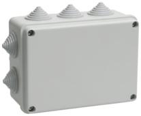 Распределительная коробка IEK KM41242 наружный монтаж 150x110 мм