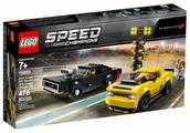 Конструктор LEGO Speed Champions 75893 Додж Чэленджер 2018 и Додж Чарджер 1970