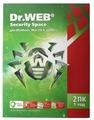 Dr.Web Security Space (2 ПК, 1 год) коробочная версия