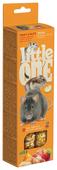Лакомство для грызунов Little One Sticks Fruit & Nuts