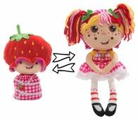 Мягкая игрушка 1 TOY Девчушка-вывернушка Ксюшка 38 см