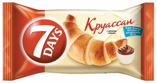 7DAYS Круассан с кремом какао
