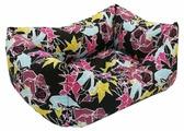 Лежак для собак ZOOexpress Пухлик Оригами №3 49х36х22 см