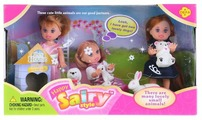 Набор кукол Defa Lucy Happy Sairy Style Куклы с питомцами 6023
