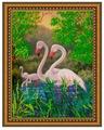 Светлица Набор для вышивания бисером Фламинго 24 х 30 см (340)