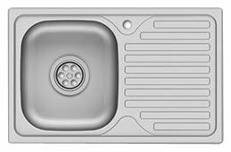 Накладная кухонная мойка Asil E LO022 / AS 28