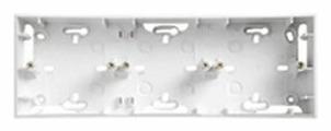 Коробка наружного монтажа Schneider Electric UNICA MGU8.006.18, белый