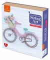Fox-in-Box Набор для творчества Стринг Арт для детей Велосипед (FB606305)