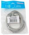 Кабель Telecom USB-A - USB-B (TC6900) 3 м