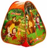 Палатка Играем вместе Маша и медведь конус в сумке GFA-МВ01-R