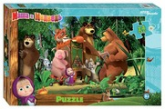 Пазл Step puzzle Анимаккорд Маша и Медведь (90048), 24 дет.