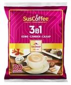 Растворимый кофе SusСoffee 3 в 1, в пакетиках